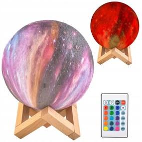 ISO Lampička farebný mesiac 15cm, 16 farieb, 9510