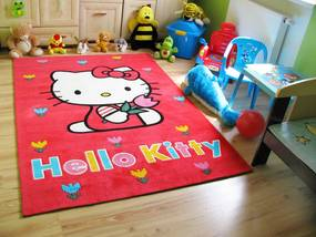 MAXMAX Detský koberec HELLO KITTY 140x200 cm