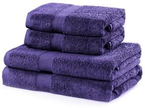 Súprava fialových uterákov DecoKing Niki
