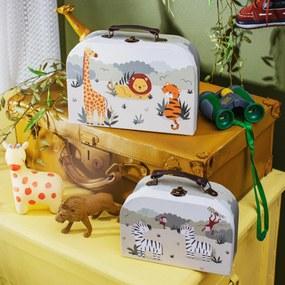 sass & belle Detský kufrík Safari Menší