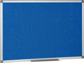 Textilné nástenky, modré, 900x600 mm