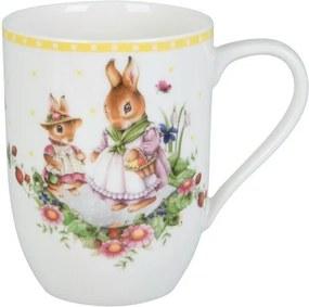 Villeroy & Boch Spring Awakening hrnček 0,37 l, Bunny Tales