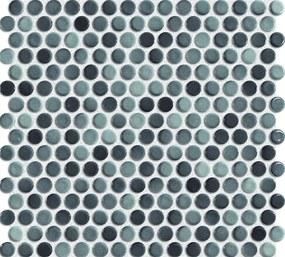 Keramická mozaika Premium Mosaic šedá 30x31 cm lesk MOS19GY