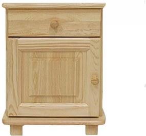 AMI nábytok noční stolek S6 borovice