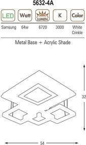 Ozcan OZ 5632-4A crinkle