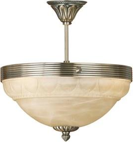 Interierové rustikálne svietidlo EGLO MARBELLA bronzová 85856