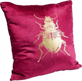 KARE DESIGN Sada 2 ks − Vankúšik Bug fialový, 45 × 45 cm