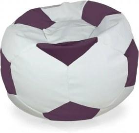 Sedací vak Futbal levanduľa - XL