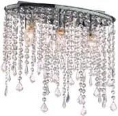 Krištáľové svietidlo IDEAL LUX Rain Clear PL3 008370