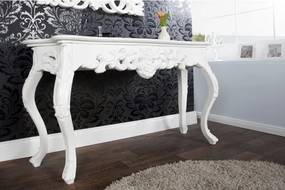 Toaletný stolík/Konzola 15633 Venice biely-Komfort-nábytok