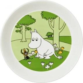 Tanier Moomintroll 19cm, zelený Arabia