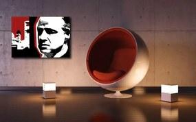 Ručne maľovaný POP Art obraz marlon Brando  mb8