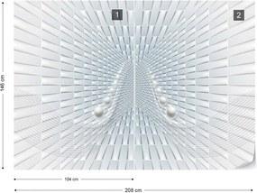 Fototapeta GLIX - 3D Abstract Design 2 + lepidlo ZADARMO Papírová tapeta  - 254x184 cm
