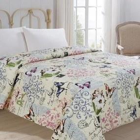 Jahu Prehoz na posteľ Motýľ, 220 x 240 cm