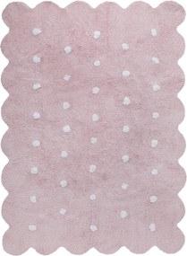 Lorena Canals koberce Ručně tkaný kusový koberec Biscuit Pink - 120x160 cm