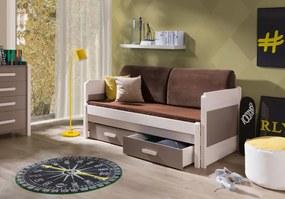 Meblobed Detská posteľ s prístelkou Vasco 180x80cm