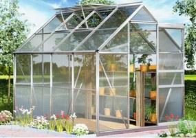 Záhradný skleník - 250 x 190 x 195 - objem 7,6 m³