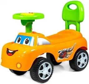 Odrážadlo DreamCar Sapphire Kids - oranžové