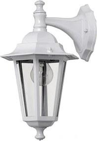 Rábalux 8201 Vonkajšie Nástenné Lampy Velence biely kov E27 1x MAX 60W IP43
