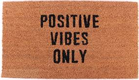 La finesse Kokosová rohožka Positive vibes only