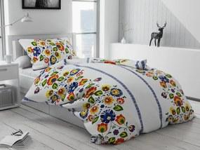 Bavlnené obliečky Folklór variace Rozmer obliečok: 70 x 90 cm, 140 x 220 cm