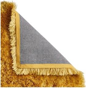 Žltý ručne tuftovaný koberec Think Rugs Polar PL Yellow, 80 × 150 cm