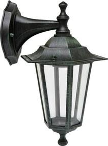 Vonkajšia nástenná lampa Ecolite Z6102-PAT patina