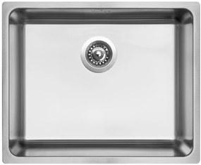 Sinks nerezový drez BLOCK 540 V kartáčovaný