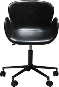 Čierna kancelárska stolička DAN-FORM Denmark Gaia