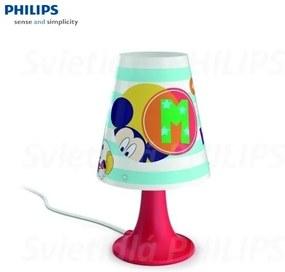 PHILIPS 717953016 MICKEY MOUSE Stolové LED svietidlo 1x2.3W 220lm IP20