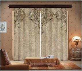 Sada 2 závesov Curtain Lasta, 140 × 260 cm