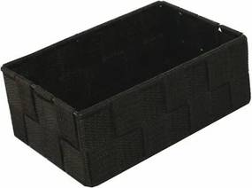 Compactor Úložný organizér do zásuvky Compactor TEX - košík M, 18 x 12 x 7 cm, čokoládový