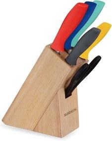 Set 5 nožov a stojana Sabichi Multi