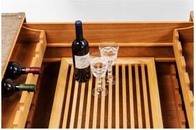 Konferenčný stolík z jaseňového dreva Kare Design West Coast, 120 x 75 cm