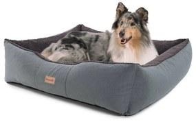 Emma, pelech pre psa, kôš pre psa, možnosť prania, protišmykový, priedušný, obojstranný matrac, vankúš, veľkosť L (100 × 30 × 90 cm)