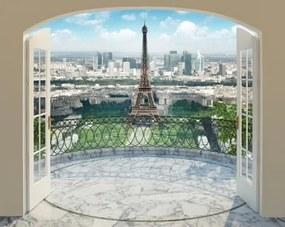 Eiffelova veža tapeta 3D Walltastic
