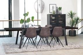 Luxusný jedálenský stôl Astor 290-410 cm II čierny