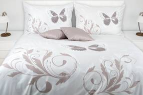 Glamonde Motýlie obliečky Mariposa  2×70x90 cm 240x200 cm na zips