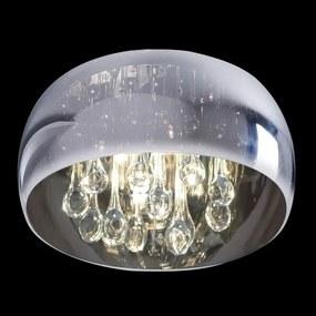 Luxera 46038 Stropné svietidlo SPHERA G9, 33W, IP20, chrómová/priehľadná chrómová