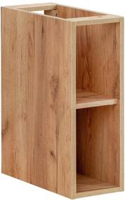 Hector Koupelnová skříňka nízká CAPRI zlatý dub