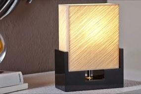 Bighome - Stolná lampa HAMAL - béžová