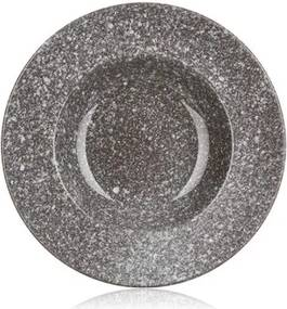 a6f0763a01c9 Talíř keramický hluboký GRANITE 23