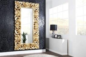 Bighome - Zrkadlo ENICE ANTIK 180x90 cm - zlatá