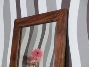 (2210) CUBUS zrkadlo z palisandru 56x151cm