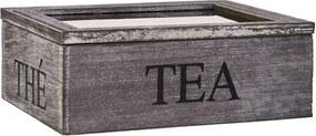 Butlers CAMPAGNE Škatuľa na čaj 3 priehradky