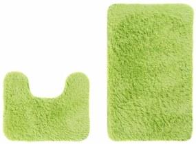 Sada kúpeľňových koberčekov SILK ARTS -61 2PC zelená