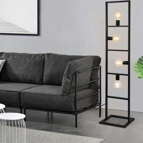 "[lux.pro]® Stojaca dizajnová lampa ""Plauen"" - 142,5 cm"