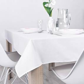 Obrus na stôl biely Classic 140x180 cm EMI