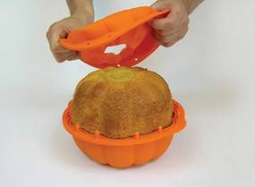Lékué silikónová forma na pečenie - tekvice