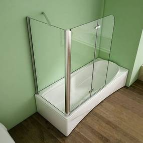Pevná bočná stena V70, 68 – 70 × 140 cm, 6 mm sklo, k vaňovým zástenám S22 a S33